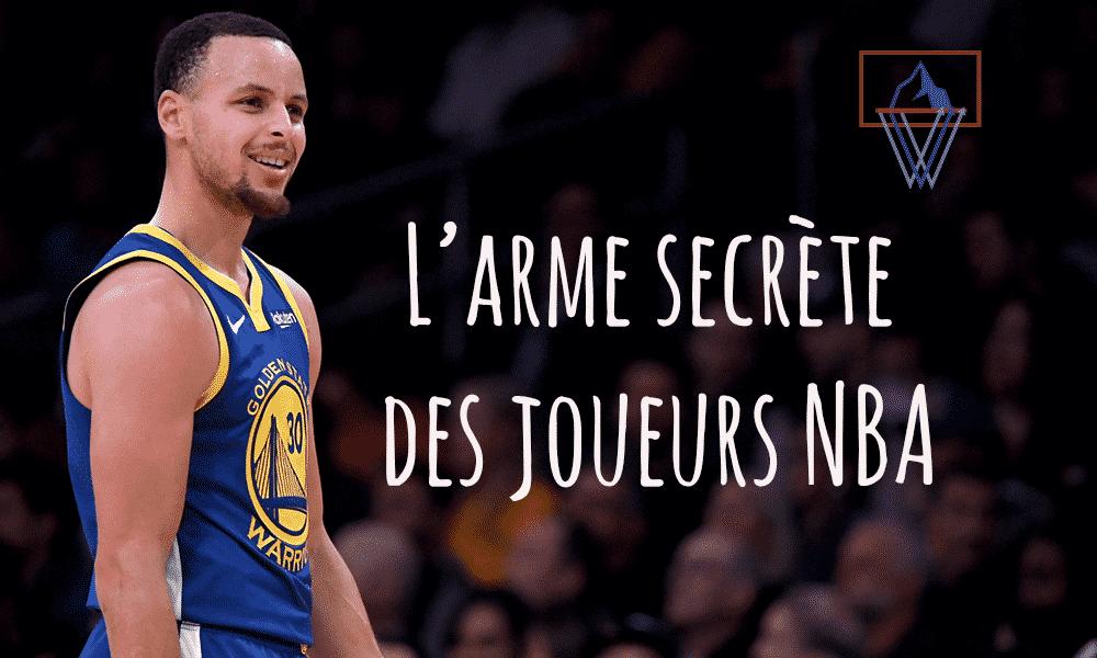 L'arme secrète des joueurs NBA
